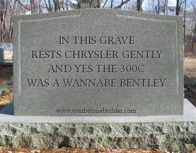 Chrysler Tombstone
