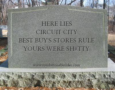 circuit tombstone