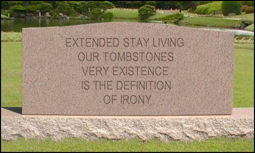 ESA tombstone