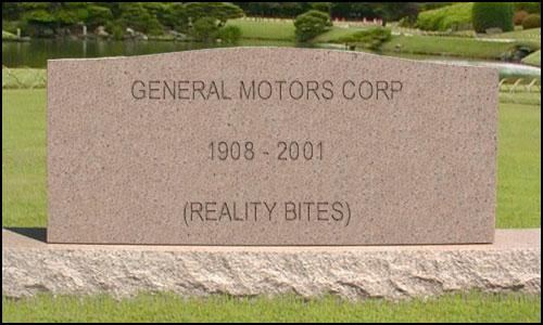 GM tombstone