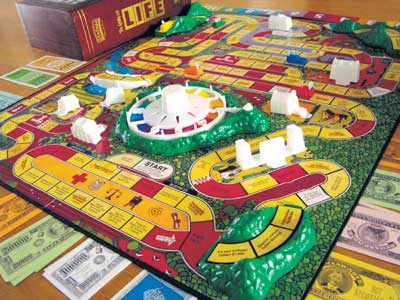 Game of Life Board Spaces Space on The Game Board