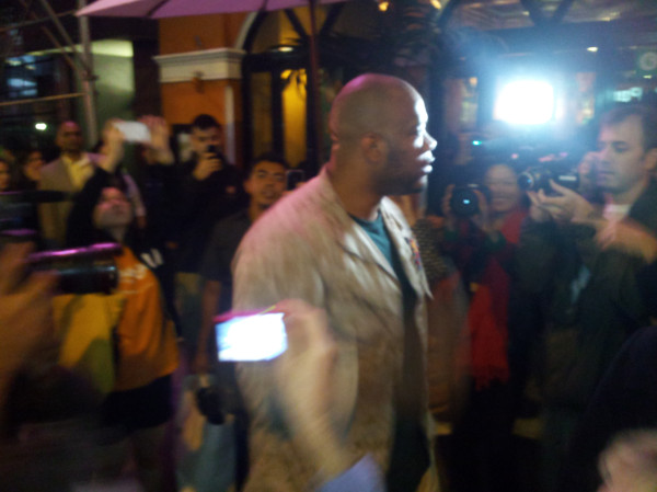 shamar thomas Marine Sergeant Stands Up to NYPD to Protect Wall Street Protesters