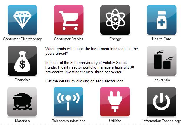 Fidelity Investments Icon