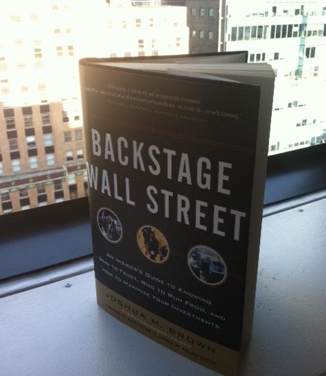 backstage hardcover