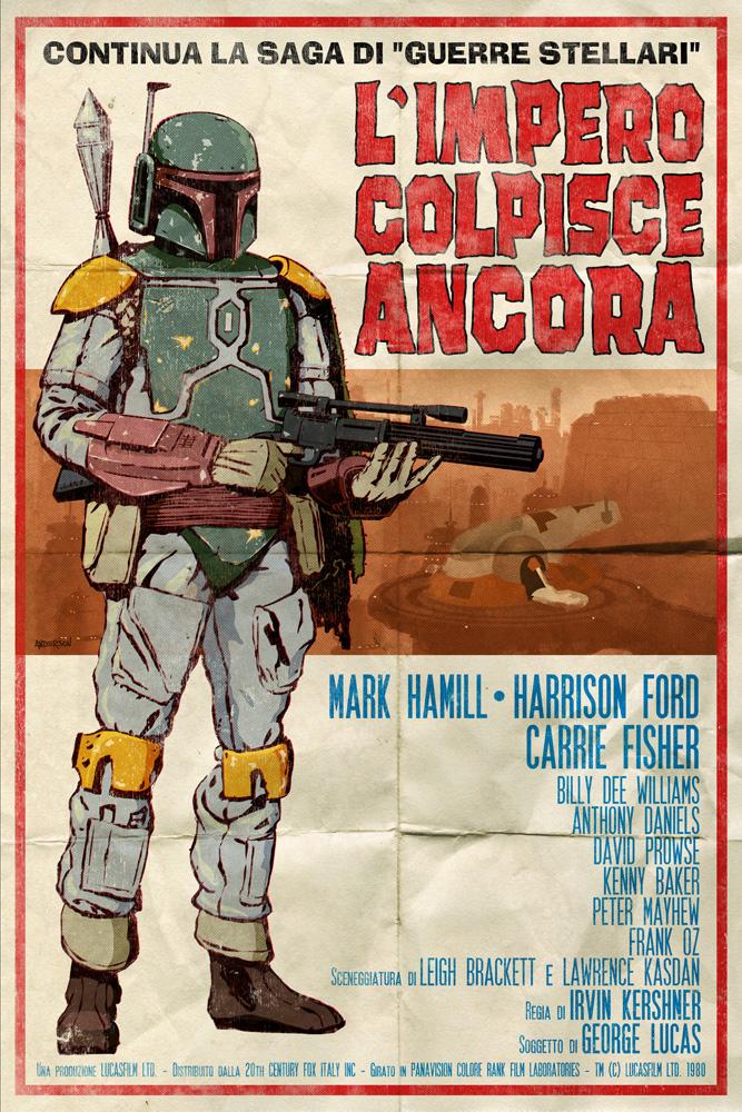 stars wars spaghetti western posters