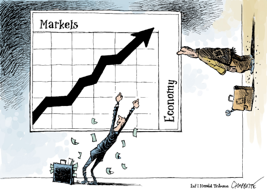 markets vs economy