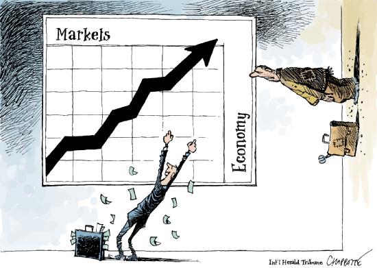 markets vs economy