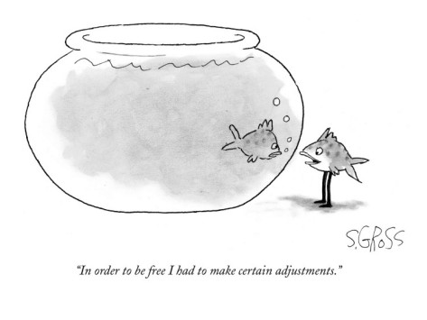 sam-gross-in-order-to-be-free-i-had-to-make-certain-adjustments-new-yorker-cartoon