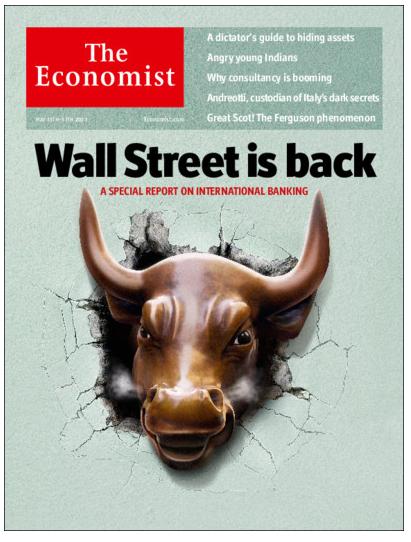 the economist wall street