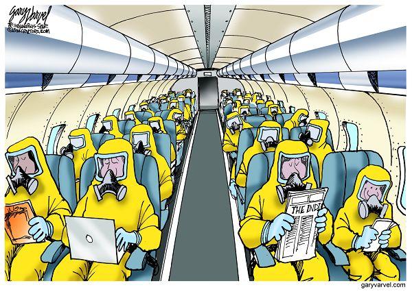 Cartoonist Gary Varvel: Future air travel precautions