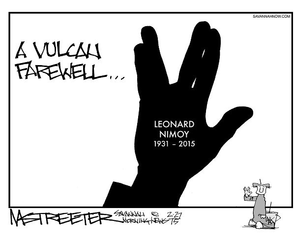 """Mr. Spock"" (Mark Streeter/Savannah Morning News)"